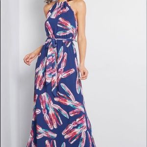 Maxi length ModCloth dress never worn